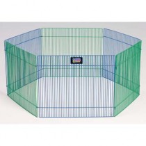 """Midwest Small Pet Playpen 6 panels 15"""" x 19"""" - 100-15"""
