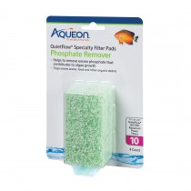 Aqueon Replacement Phosphate Removcer Filter Pads Size 10 4 pack