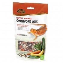 "Zilla Reptile Munchies Omnivore 4 ounces 5.875"" x 2.75"" x 9.5"""