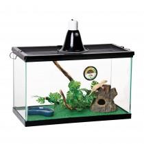 "Zilla Basic Tropical Reptile Starter Kit Size 10 20.25"" x 10.5"" x 12.56"""