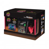 "Aqueon Princess Castle Aquarium Kit 0.5 Gallon Pink 8.2"" x 4.8"" x 8.5"""