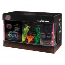 """Aqueon NeoGlow LED Aquarium Kit 10 Gallon Orange 20.5"""" x 10.5"""" x 12.5"""""""
