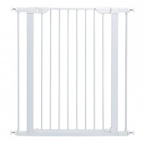 "Midwest Glow in the Dark Steel Pressue Mount Pet Gate Tall White 29.5"" x 38"" x 39.13"""