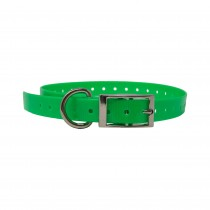 """The Buzzard's Roost Replacement Collar Strap 3/4"""" Neon Green 3/4"""" x 24"""""""
