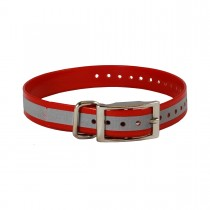 """The Buzzard's Roost Reflective Collar Strap 1"""" x 24"""""""