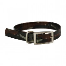 """The Buzzard's Roost Replacement Collar Strap 1"""" Camo 1"""" x 24"""""""