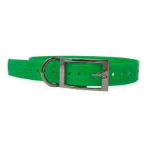 """The Buzzard's Roost Replacement Collar Strap 1"""" Neon Green 1"""" x 24"""""""