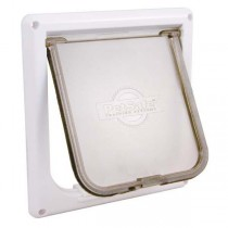 "PetSafe Cat Flap White 7.5"" x 1.5"" x 7.9"""