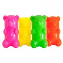 """Ruff Dawg GummyBear Dog Toy Assorted 2.5"""" x 2"""" x 6"""""""