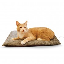 """K&H Pet Products Amazin' Thermo-Kitty Pad Gray 15"""" x 20"""" x 2"""" - KH3295"""