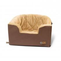"K&H Pet Products Hangin' Bucket Booster Pet Seat Tan 16.5"" x 13.5"" x 30"""