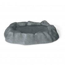 K&H Pet Products Birdbath Unheated 1 Gallon Gray 17'' x 23.5'' x 4''