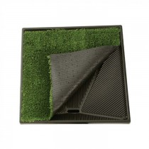 "PetSafe Pet Loo Plush Replacement Grass Green 24"" x 24"""