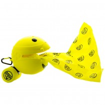 "Potty Mouth Portable Hygienic Pooper Scooper Large Yellow 4.3"" x 4.3"" x 4.3"""