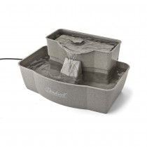 PetSafe Drinkwell Multi-tier Pet Fountain Gray