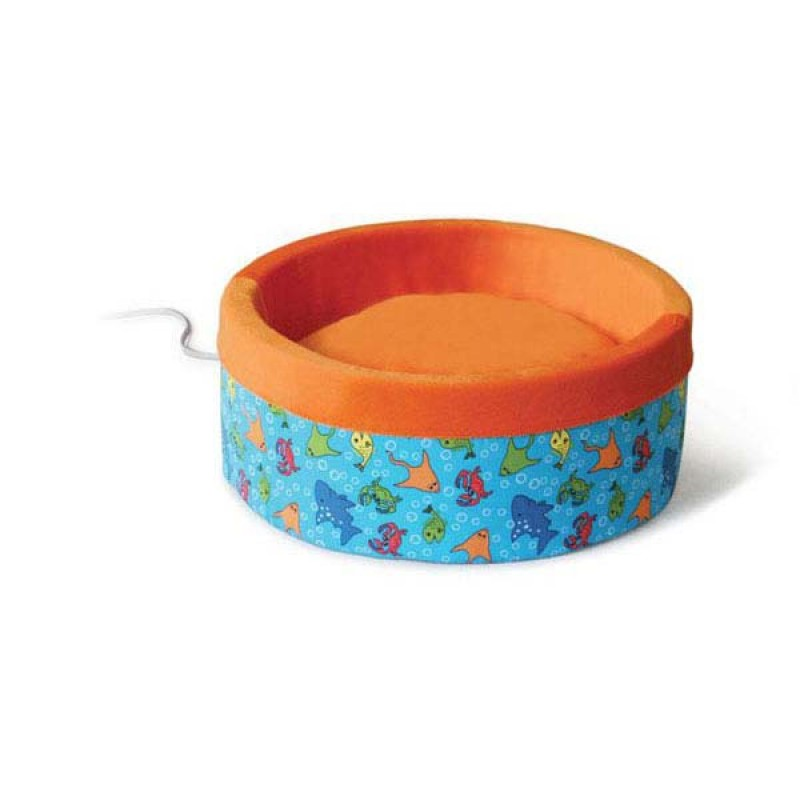 K&H Pet Products Thermo-Kitty Bed Large Fish